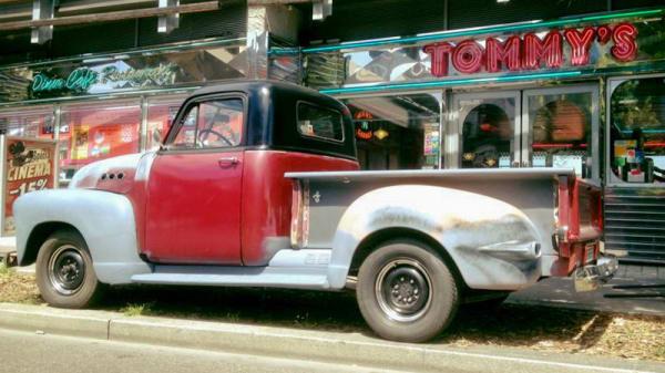 Façade - Tommy's Diner Lyon Carré de Soie, Vaulx-en-Velin
