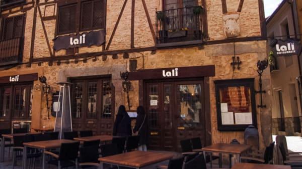 Vista entrada - Lali, Segovia