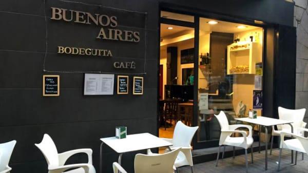 Vista terraza - Buenos Aires Bodeguita Café, Puigcerda
