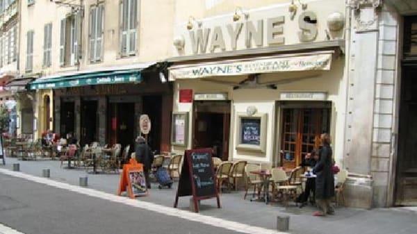 Restaurant - Wayne's Bar, Nice
