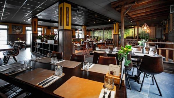 Het restaurant - Boscafé Molenvelden, Veldhoven