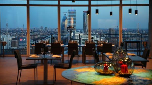 La vetrata con vista CityLife - Mi View Restaurant, Milano