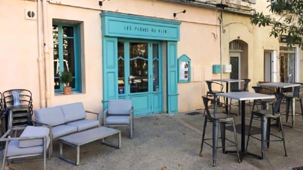 Terrasse - Les Piques ou Rien, Arles