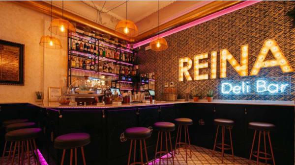 Vista sala - Reina Deli Bar, Madrid