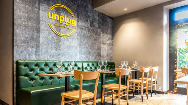 Veduta dell interno - Unplug Food & Mixology, Roma