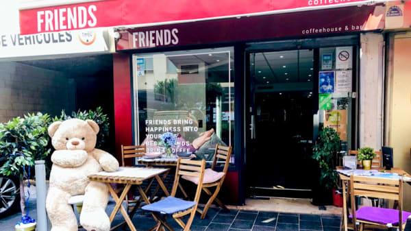Entrée - Friends Coffeehouse et Bar, Nice
