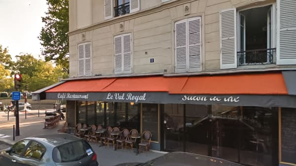 Devanture - Le Val Royal, Paris