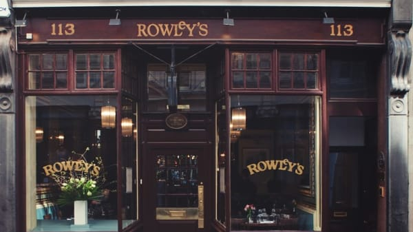 Entrance - Rowley's Restaurant, London
