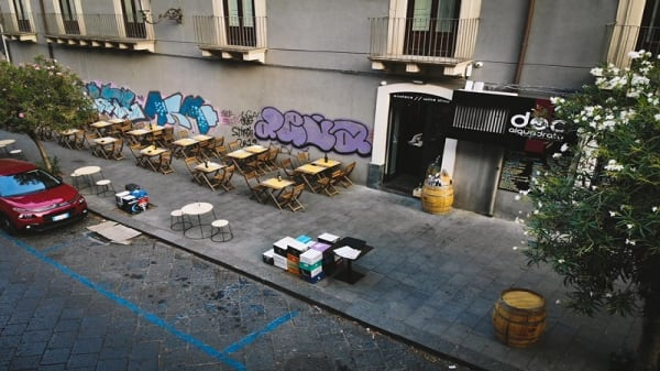 sala esterna - Docalquadrato, Catania