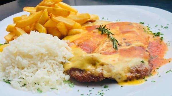 Carne a parmegiana  - Ibis Kitchen Paulista, São Paulo