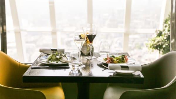 Fenchurch Restaurant at Sky Garden, London