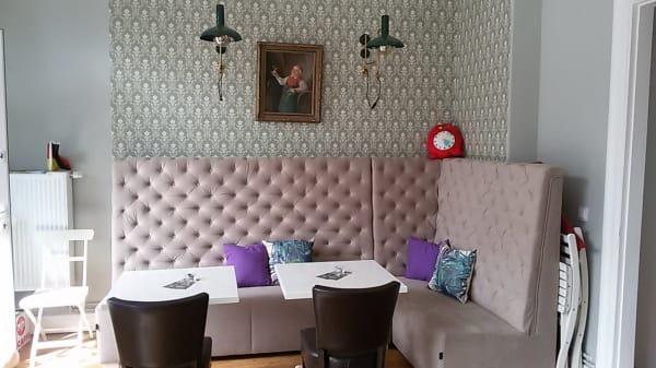 Innenansicht - Hermitage Café, Hamburg
