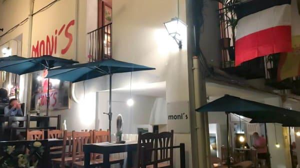 Fachada - Moni's pizzeria, Peñíscola
