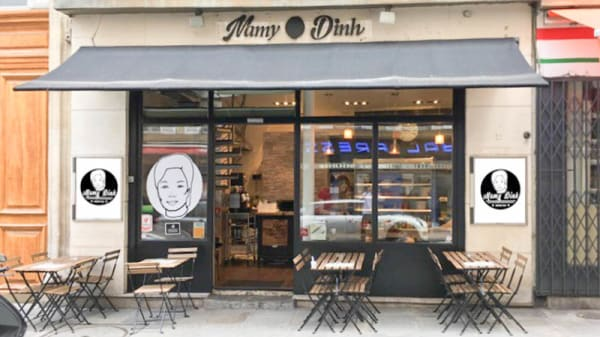 Devanture - Mamy Dinh, Paris