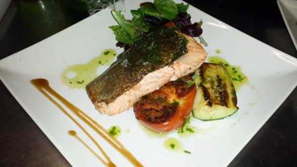 Sugerencia de plato - Entre ascuas, Montejaque