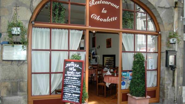 Entrée - La Ciboulette, Nantes