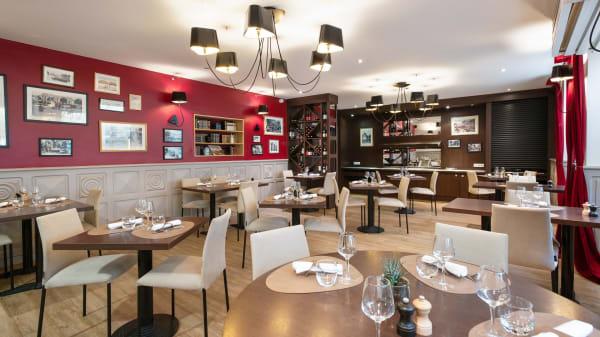 Salle du restaurant À l'Image Sainte-Anne - À l'Image Sainte-Anne, Vannes