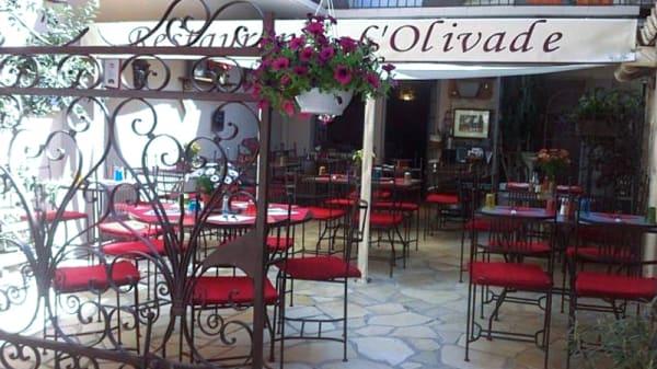 Terrasse - L'Olivade, Saint-Rémy-de-Provence