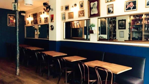 salle - Coq & Bock, Paris