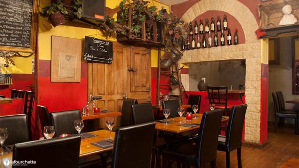 Salle du restaurant - Café Vian, Marseille