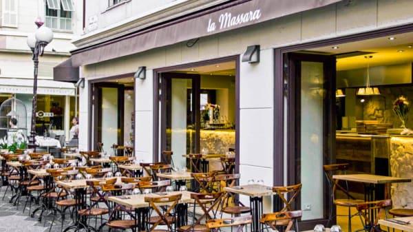 façade du restaurant - La Massaia, Nice