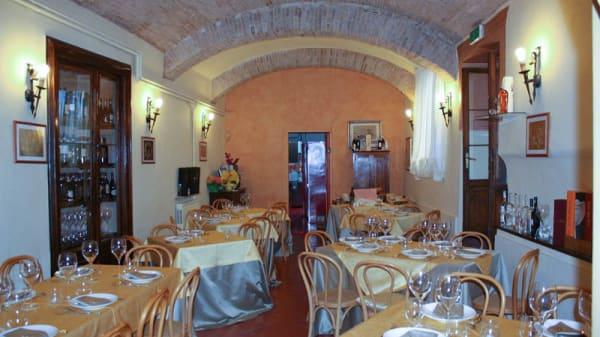 vista sala - Ristorante Sabatini il Giardino del Corso, Spoleto