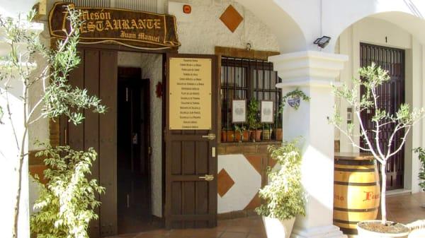 Entrada - Mesón Restaurante Juan Manuel, Antequera