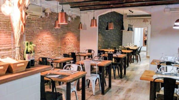 Vista de la sala - La Júlia restaurant, El Masnou