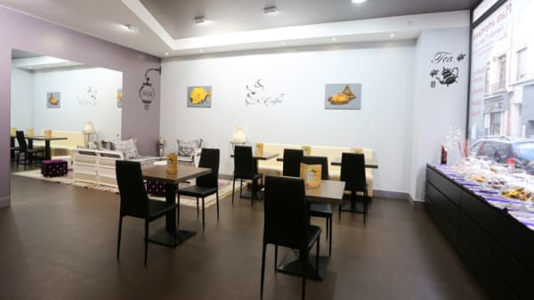 Salle du restaurant - Orient & Occident, Saint-Étienne