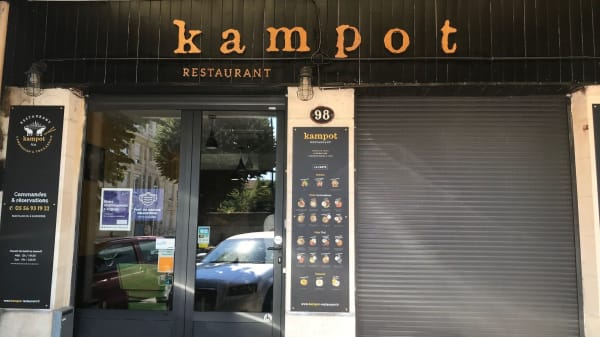 Kampot Restaurant, Bordeaux