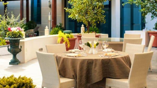 Terrazza e giardino - Galileo Restaurant by Hotel Magri's, Napoli