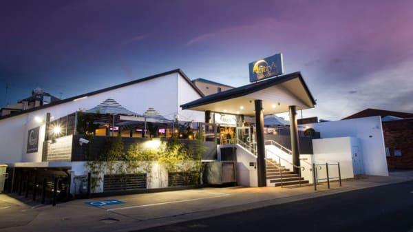The hotel's rear Church Street Entrance - Fitzy's on Church - Fitzy's Toowoomba, Toowoomba City (QLD)