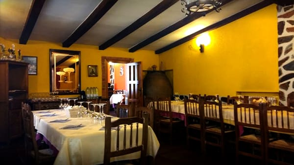 Vista sala - La Muralla, Coca
