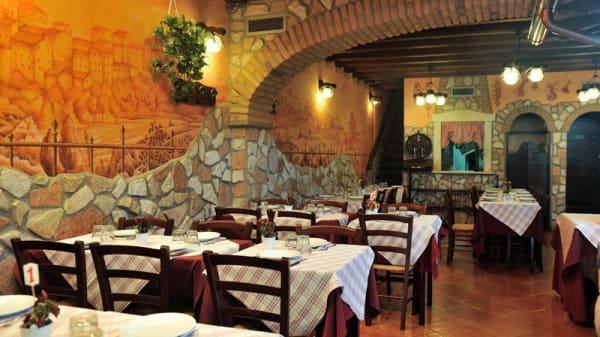 La sala - Mastro Titta, Ariccia