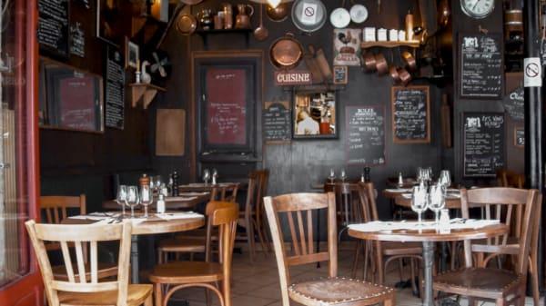 Vue de l'intérieur - Le Bistro des Oies, Paris