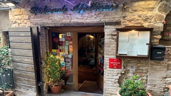Facciata - Ristorante Apollinare, Spoleto