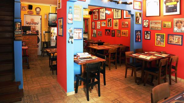 vista da sala - San Telmo Resto Bar, São Paulo