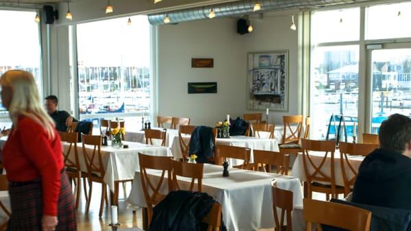Restaurangens rum - Cafe Sundet, København