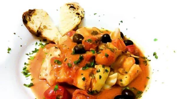 Sugerencia del chef - Pinsa e Buoi Parioli, Rome