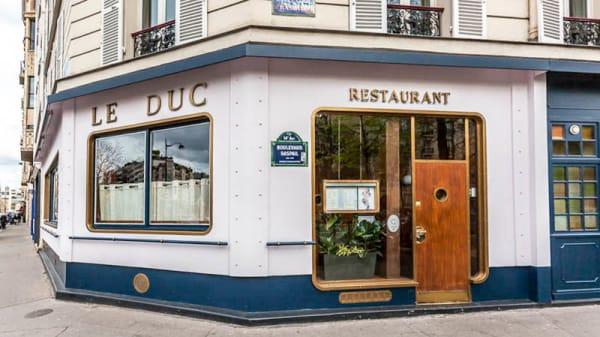 Entrée - Le Duc, Paris