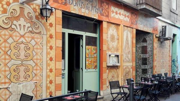 Devanture - Adonis du Liban, Marseille