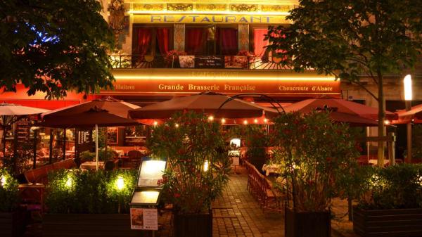 La Façade de Nuit - Café du Levant, Bordeaux