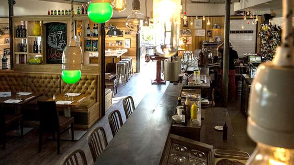 Vue de la salle - Papa's Kitchen, Bourgoin-Jallieu