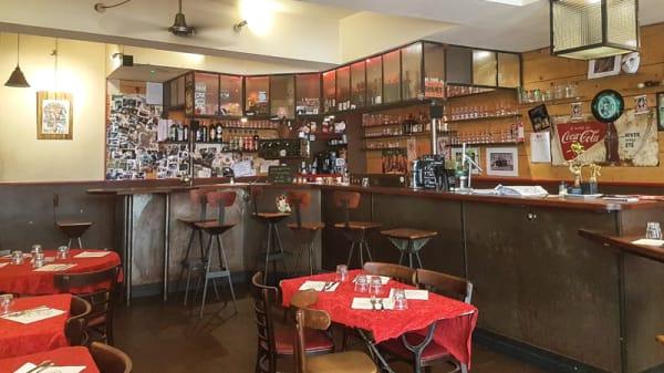 Salle du restaurant - Le Dahu, Toulouse