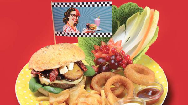 hamburguesa - 1950 American Diner - Livorno, Livorno