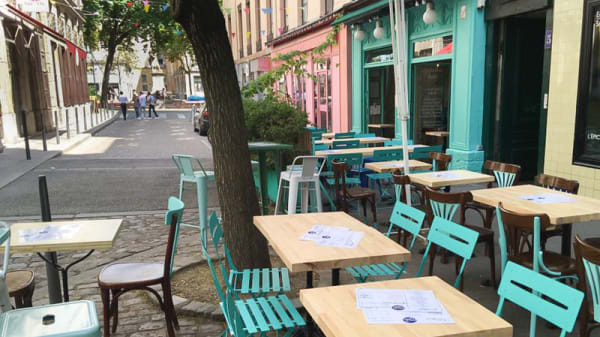 Terrasse - Chez Les Tartes, Lyon