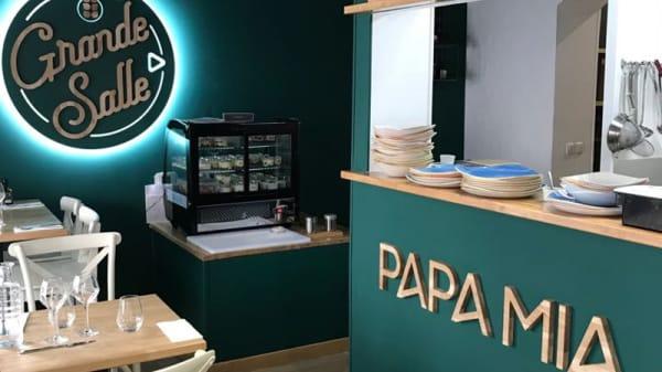 Salle du restaurant - Papa Mia, Levallois-Perret