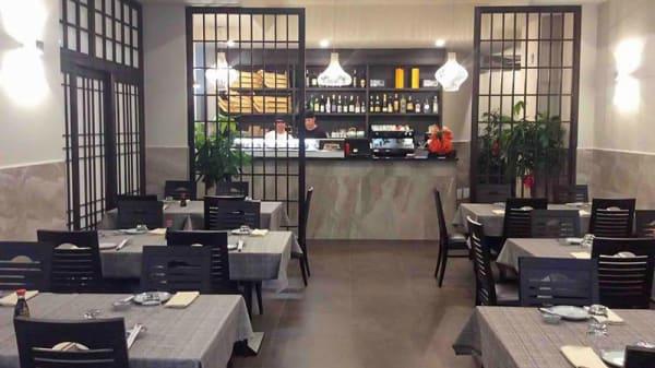 Sala del ristorante - Sakagura, Florence