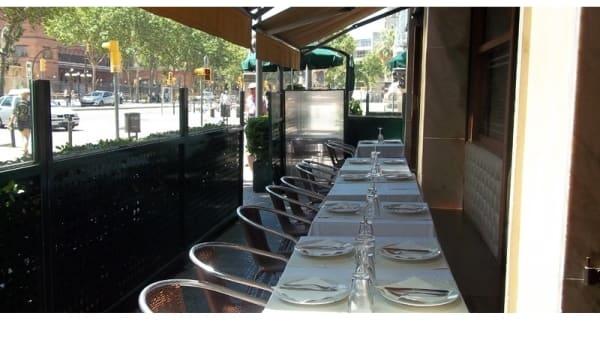 Vista terraza - Ciudadela Parc - Hotel Ciudadela Parc, Barcelona