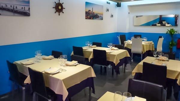 Sala del restaurante - El Faro, Barcelona